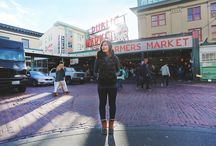 #UNIQLOSeattle / Jess Estrada of Fresh Jess gave us a tour of downtown Seattle! Take a peek at some of our favorite spots.