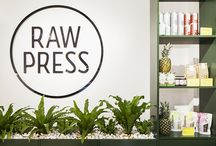 Raw Press, Chelsea, London / Raw Press, Chelsea, interior design by DesignLSM. Photography (c) James French