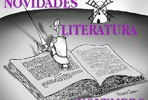 Literatura NOVEMBRO 2016 / Novidades de Literatura na Biblioteca Ánxel Casal. Novembro 2016