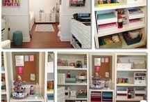 Scraproom & organization