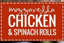 Chicken Dishes / Chicken roll ups