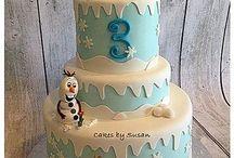 Disney's Frozen Cakes