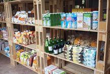 Allestimenti per SPESO BENE / Allestimenti per SPESO BENE, negozio di prodotti biologici ed ecosostenibili di Cremona