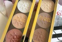 Contour & Highlight / RED LIPSTICK DIARIES: Physicians Formula Bronze Booster Highlight   Contour Palettes in Bronze Booster Matte Sculpting Palette and the Bronze Booster Shimmer Strobing Palette