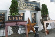 Front Entrance Architectural Salvage / Please Come In!