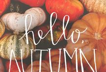a u t u m n / Autumn Inspiration