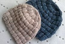 hats for baby and adults