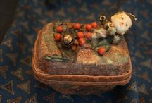 Altered Art Doll Head vintage Jewelry Box by…
