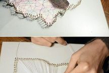 Try make corfu map / Nails n string