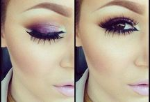 MAKE-UP LOOKS / GIRLS/EYES/MAKEUP/BEAUTY/LOVELY/EYESHADOW/LIPSTICK/PRETTY/BEAUTIFUL/PINK/RED/LASHES