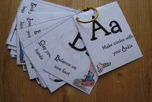 Alphabet and Letters  / by Kirsten Scriven