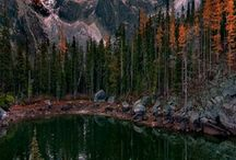 Stillness of Autumn - Dragontail peak.