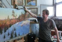 Настоящая живопись. Современные мастера. / О настоящей живописи. О современных мастерах.