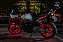 Мотоциклы с подсветкой колёс