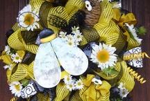 spring wreaths / by Jenny Renneisen