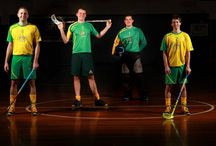 Other Astico Designs / designed uniforms for Australian National Floorball Team by Lucia