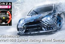 Forza Horizon 3 Blizzard Mountain Racing Wheel Gameplay / Forza Horizon 3 Blizzard Mountain Racing Wheel Gameplay Thrustmaster Ferrari 458 Spider Racing Wheel  ● Blizzard Mountain 拡張パック リリース日:2016/12/14 3:00:00 Forza Horizon 3 の Blizzard Mountain 拡張パックでは、プレイヤーは「King of the Mountain」になるべく、雪や氷、究極の海抜などのコンディションに挑みます。