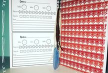 Binnenzijde journals/planners/kalenders etc.