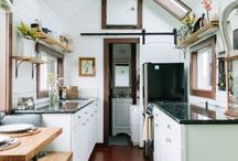 Tiny House / Minimal, Downsized life style. Spending less and living more