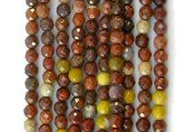 Mookaite Gemstone Beads, Mookaite Cabochons, Mookaite Handmade Jewelry