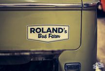 ROLAND'S BUS FARM / I didn't know about this fantastic garage for restoration of classic VW Transporter; I discovered on becombi.com. I think the pictures are great and the garage is superb.
