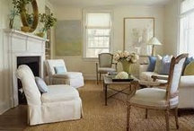 Interior Design: Living Rooms / living rooms, family rooms, home decor, design ideas / by Katie Grabner