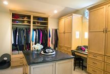 Traditional Closet Organizers / Closets created with Custom Fitted Furniture