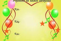 narozeninove pozvanky