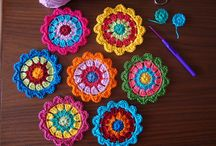 My ❤For Crochet Flowers / by Michelle Eames