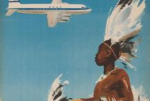 Travel of a Bygone Era / Vintage travel posters