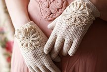 Vintage Gloves / by The Artist April@Gallery of Salon Fountains