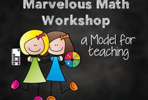Math Workshop / Math workshop lesson ideas are included for kindergarten and first grade.  Help build your student's number sense, fluency, and general mathematical skills.  Organization and management tips too!