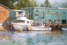 Art - Watercolor - Ramsey, Ian