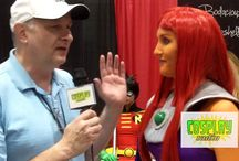 Cosplay Radio Interviews / Interviews with Cosplayers at various Comic-Cons.
