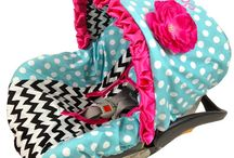 Ritzy Baby Infant Car Seat Covers