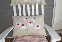 Patchwork pillows / pillows