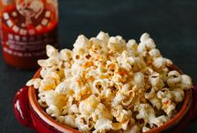 The best of popcorn / Perfect popcorn snacks, flavoured and delicious.
