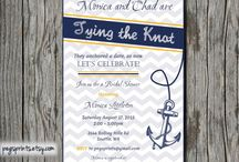 NAUTICAL BRIDAL SHOWER / by Holly Williams