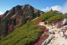 常念岳(北アルプス)登山 / 常念岳の絶景ポイント 北アルプス登山ルートガイド。Japan Alps mountain climbing route guide