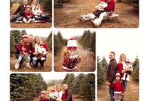 Christmas Minis / Idea board for styling of Christmas Mini Photo Sessions.
