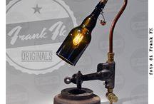 Frank FK ORIGINALS / Steampunk Vintage Industrial handmade Lamps