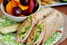 lunch ideas / by Nikki Camiola Muranko