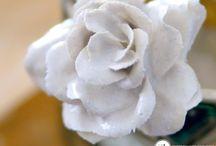come fare le rose con il gesso