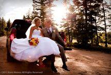 Evergreen Colorado Wedding Photographer / Red Barn near Evergreen Colorado Wedding Photo.