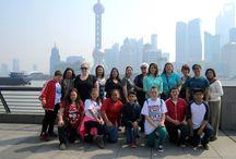 Kickstart Kids Go to China! / Davila M.S. Kickstart Kids visit China taking their Martial Arts International