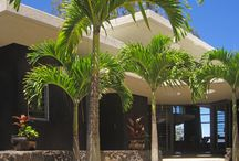 Hi'Ilani EcoHouse / The #Hiilani EcoHouse Build in #Hawaii is a #CarbonNeutralHome build with #TridiPanel. This #EcoHouse supplies its own Solar Power and water via its #CantileverRoofs and #WaterCatchment.