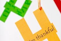 Thanksgiving Craft Ideas / by Becca Matlock