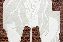Rope Work / Art Work - using shibari images and rope work
