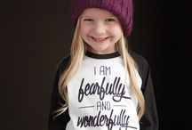 Kids Style / Style ideas for girls/daughters that are age appropriate.