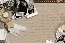 Scrapbook Ideas - Film Strips / Scrapbook layouts featuring film strips and potential for thumbnail prints